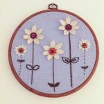 Flower Garden Embroidery W..