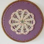 Vintage Doily Hand stitched..