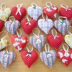 3 Hanging Heart Decoration..